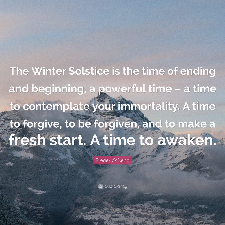 Happy Winter Solstice!